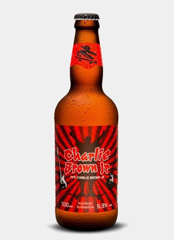 Cerveja Invicta Charlie Brown Jr.