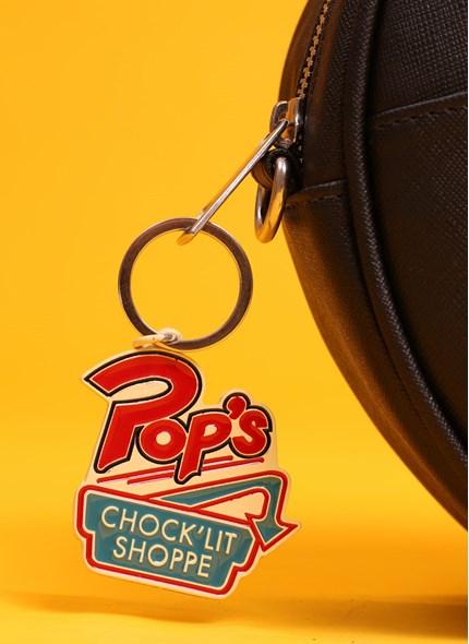 Chaveiro Riverdale Pop's Chock' lit Shoppe