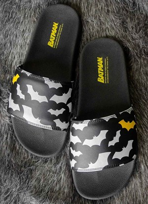 Chinelo Slide Batman Bats