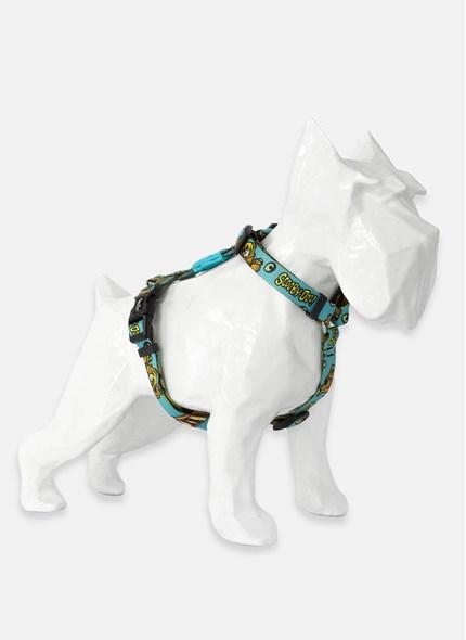 Coleira Peitoral H para Cães Scooby