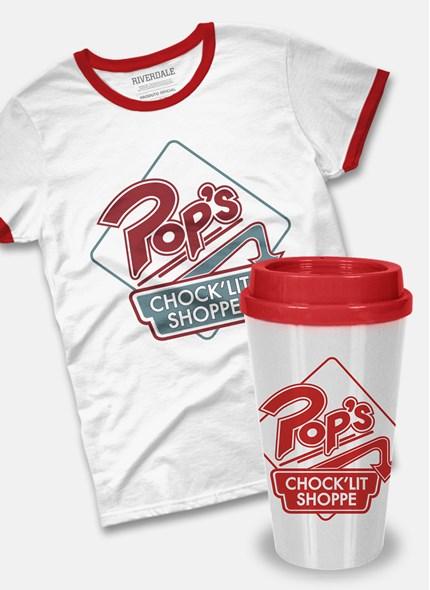Combo Feminino Riverdale Camiseta + Copo Bucks Pop's