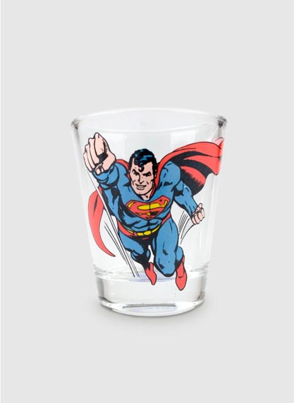 Conjunto com 4 Shots de Vidro DC Comics Heróis