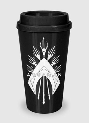 Copo Bucks Aquaman Logo Trident