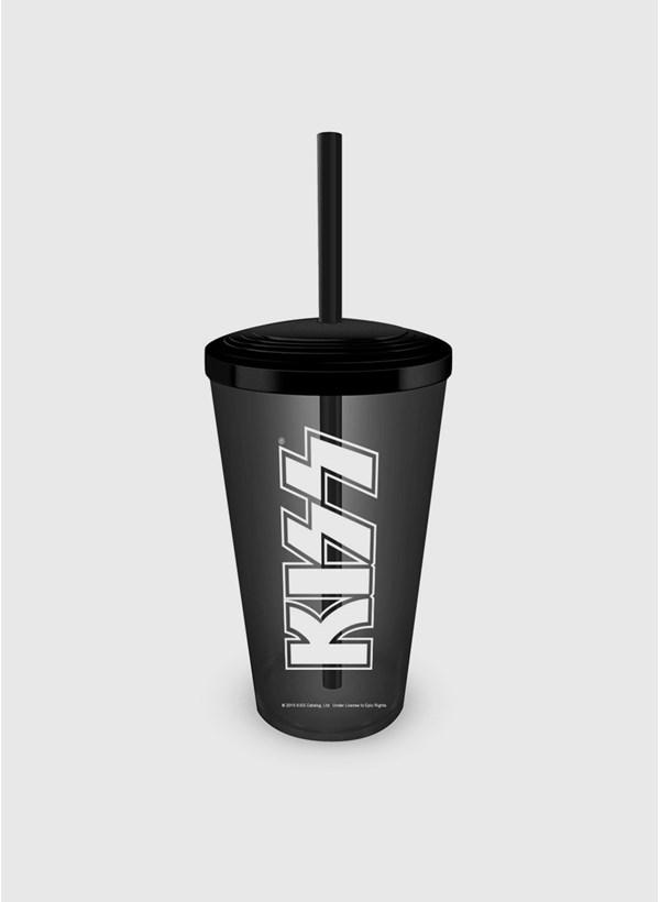 Copo Kiss Logo Acrílico
