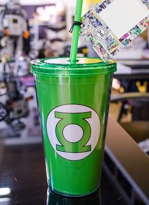 Copo Lanterna Verde Logo