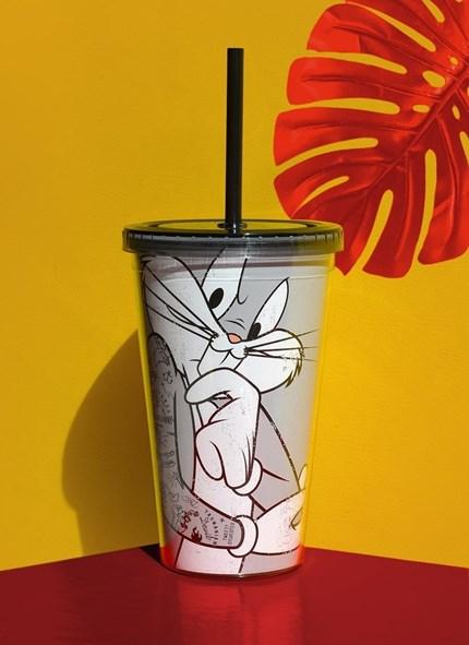 Copo Looney Tunes Pernalonga Tattooed
