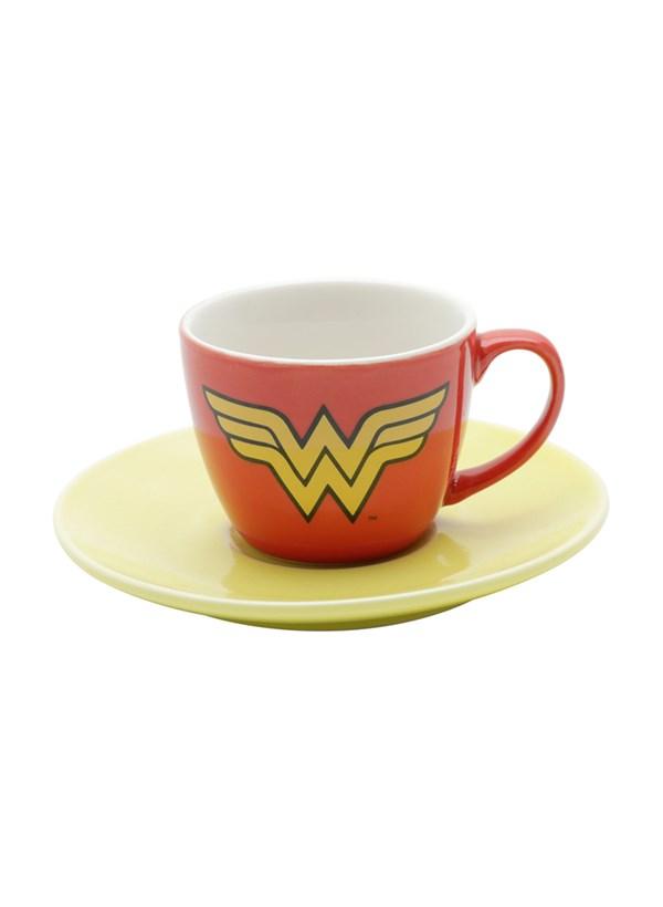 Jogo de Xícaras Super Heróis Logos