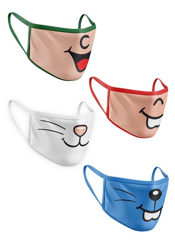 Kit de Máscaras Turma da Mônica Boquinhas