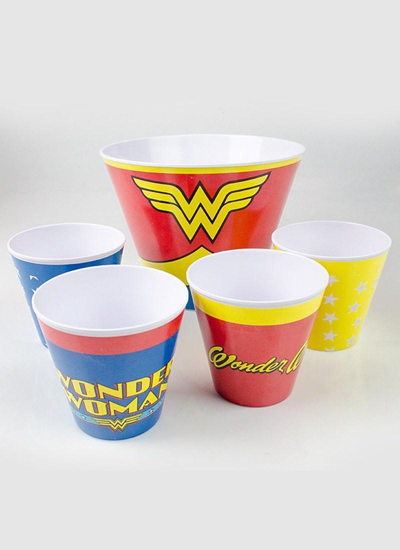 Kit de Pipoca Wonder Woman Clothes Comprar Agora bandUP! Store 88f43722de61e