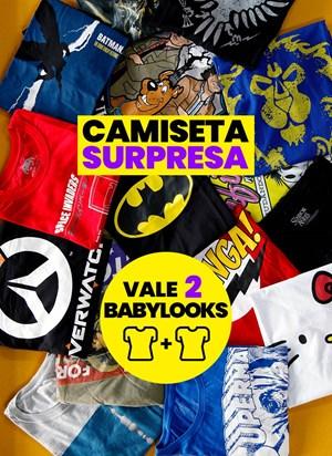 Kit Feminino 2 Camisetas SURPRESA