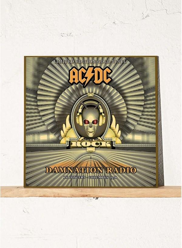 LP AC/DC Dammation Radio Gold Vinyl