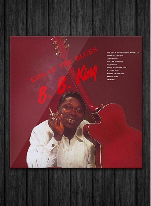 LP B.B. King - King Of The Blues + Camiseta Grátis