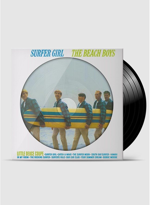 LP Beach Boys Surfer Girl (Stereo & Mono) + Camiseta Grátis