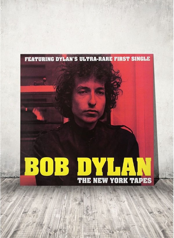 LP Bob Dylan The New York Tapes + Camiseta Grátis