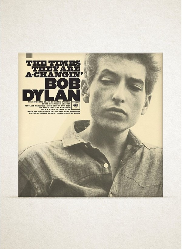 LP Bob Dylan The Times They Are a Changin
