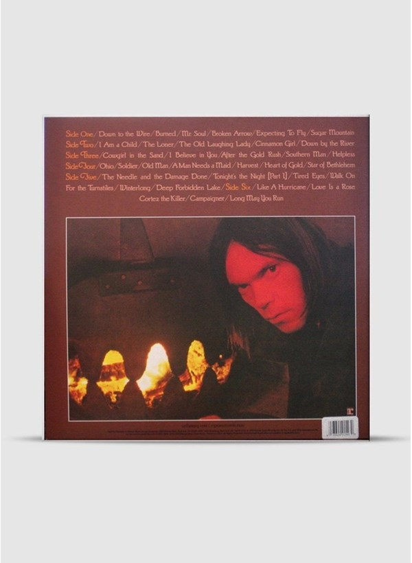 LP Box Set Neil Young Decade