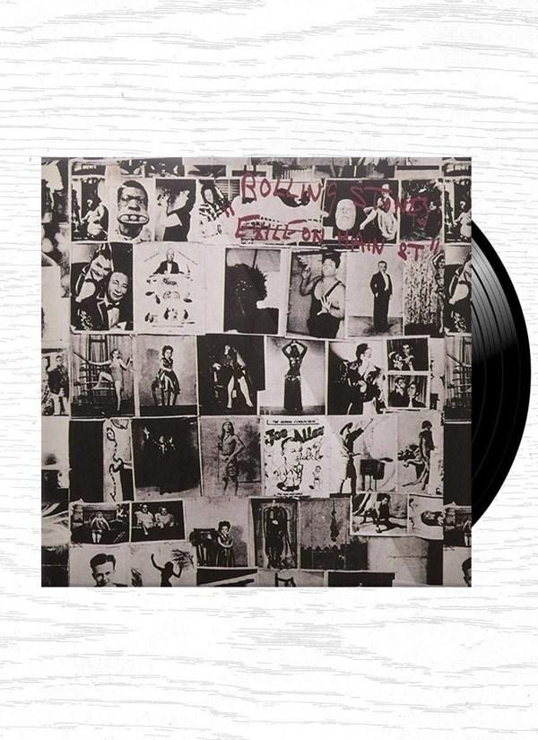 LP Duplo Rolling Stones Exile On Main Street
