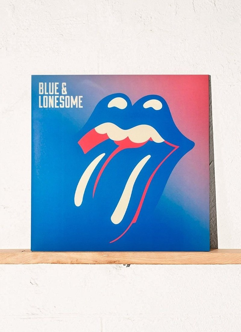 LP Duplo The Rolling Stones - Blue & Lonesome