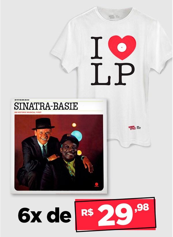 LP Frank Sinatra & Count Basie + Camiseta Grátis
