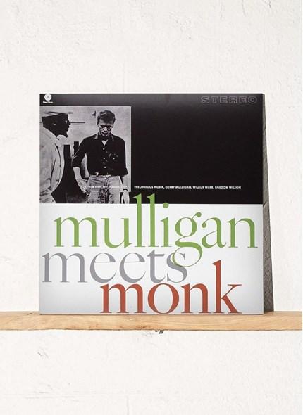 LP Gerry Mulligan & Thelonious  Monk Mulligan  Meets Monk