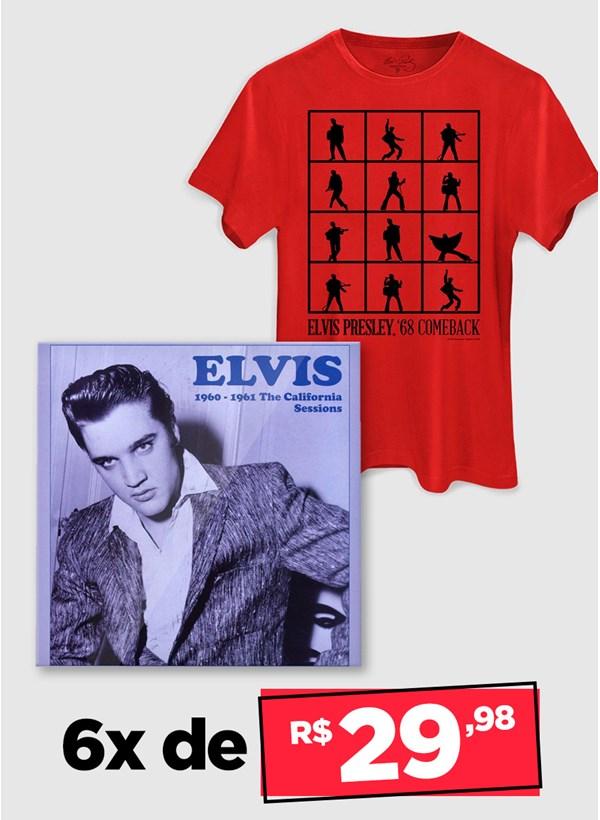 LP IMPORTADO Elvis Presley 1961 The California Sessions + Camiseta Grátis