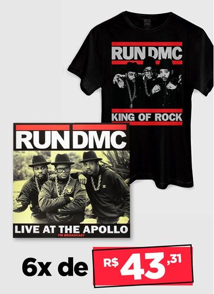 LP IMPORTADO Run DMC Live At The Apollo + Camiseta