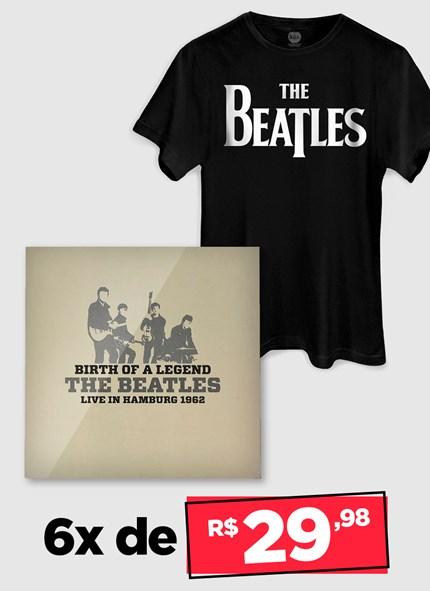 LP IMPORTADO The Beatles Birth Of A Legend: Live In Hamburg 1962 + Camiseta Grátis