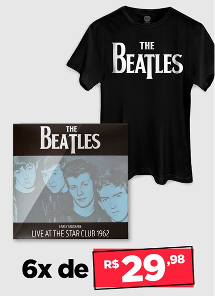 LP IMPORTADO The Beatles Early And Rare: Live At The Star Club 1962 + Camiseta Grátis