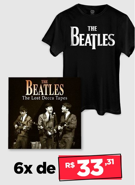 LP IMPORTADO The Beatles The Lost Decca Tapes (Gray) + Camiseta Grátis