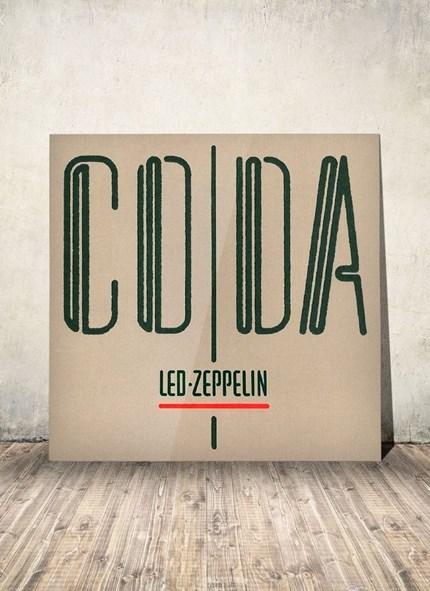 LP Led Zeppelin - Coda