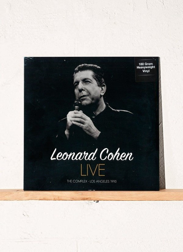 LP Leonard Cohen - Live at The Complex / Los Angeles - April 18, 1993