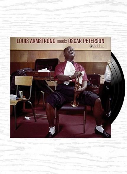 LP Louis Armstrong & Oscar Peterson Louis Armstrong Meets Oscar Peterson