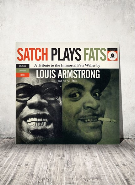 LP Louis Armstrong Satch Plays Fats