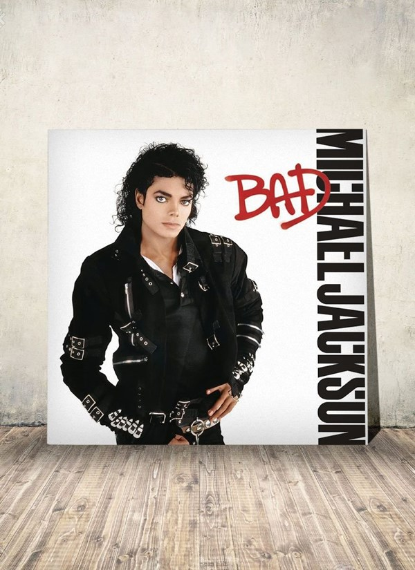 LP Michael Jackson Bad