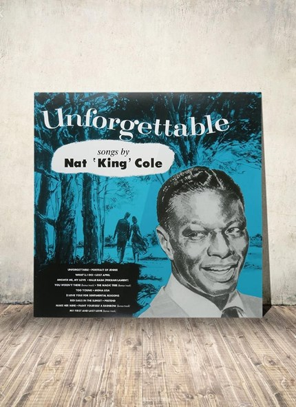 LP Nat King Cole - Unforgettable