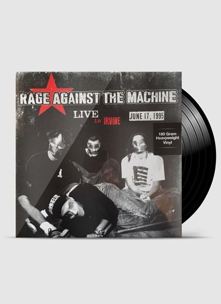 LP Rage Against The Machine - Live In Irvine. CA June 17 1995 KROQ-FM