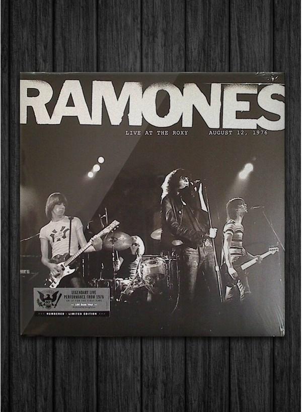LP Ramones Live At The Roxy 1976
