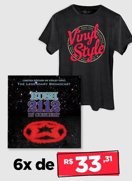 LP Rush 2112 In Concert + Camiseta