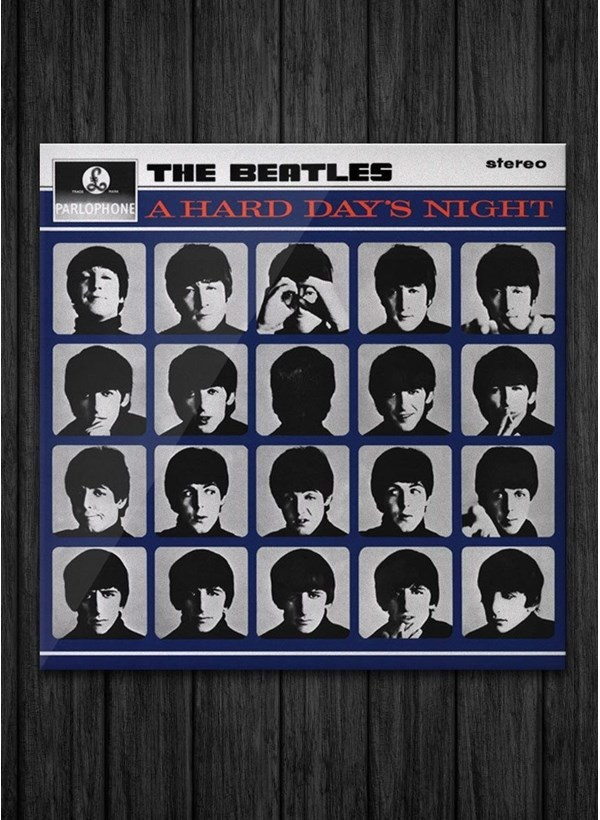 LP The Beatles - A Hard Day's Night