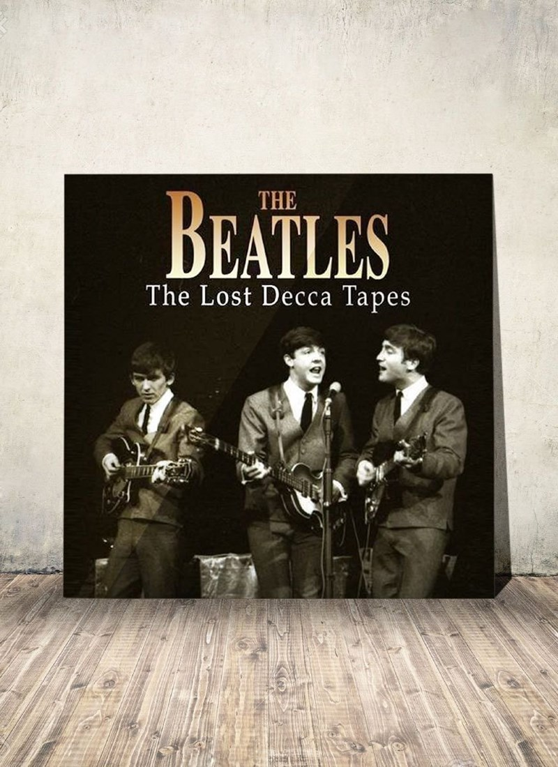 LP The Beatles The Lost Decca Tapes Grey