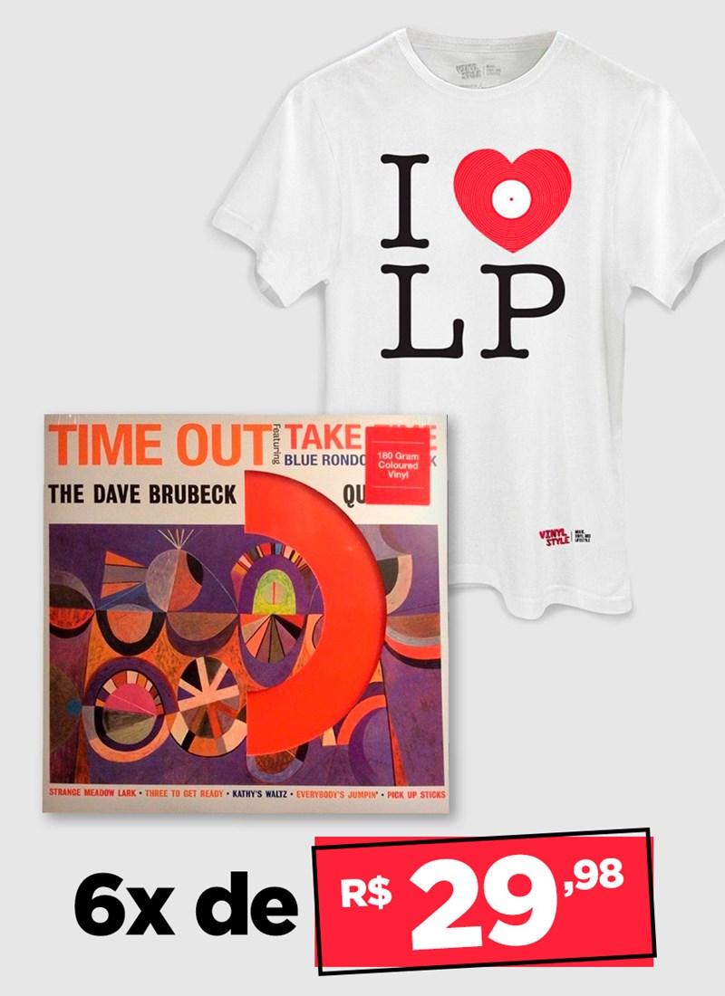 LP The Dave Brubeck Quartet Time Out - COLOR + Camiseta Grátis