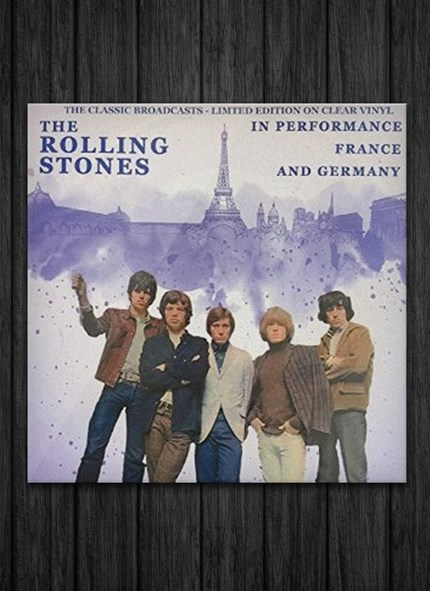 LP The Rolling Stones In Performance, France and Germany