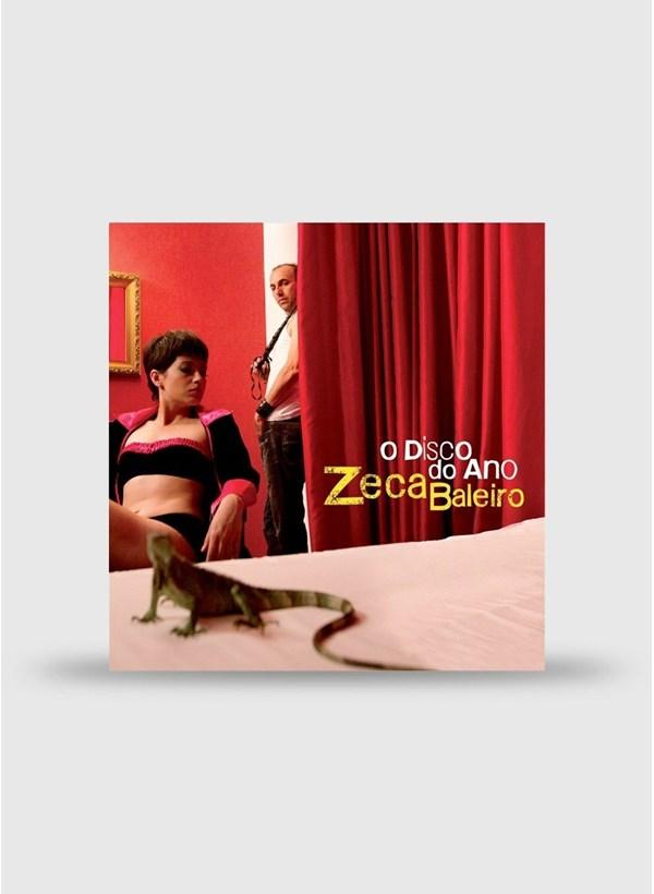 LP Zeca Balero O Disco Do Ano + Camiseta Grátis