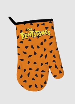 Luva de Forno Os Flintstones Black Dots