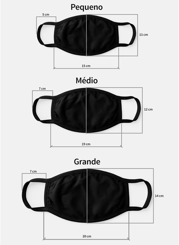 Máscara Batman Pattern