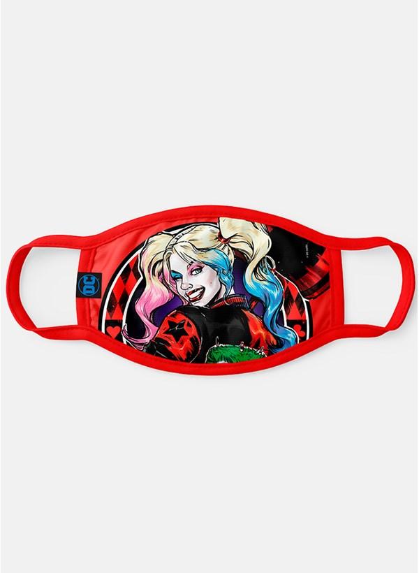Máscara Harley Quinn Smile