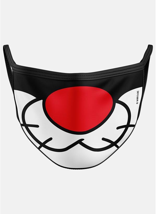 Máscara Looney Tunes Frajola Boquinha