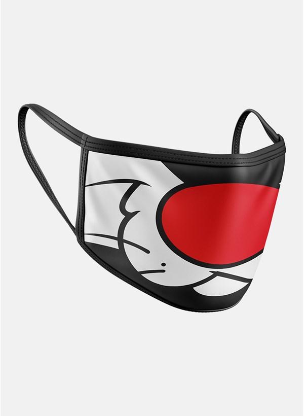 Máscara Looney Tunes Frajola Boquinha Colors