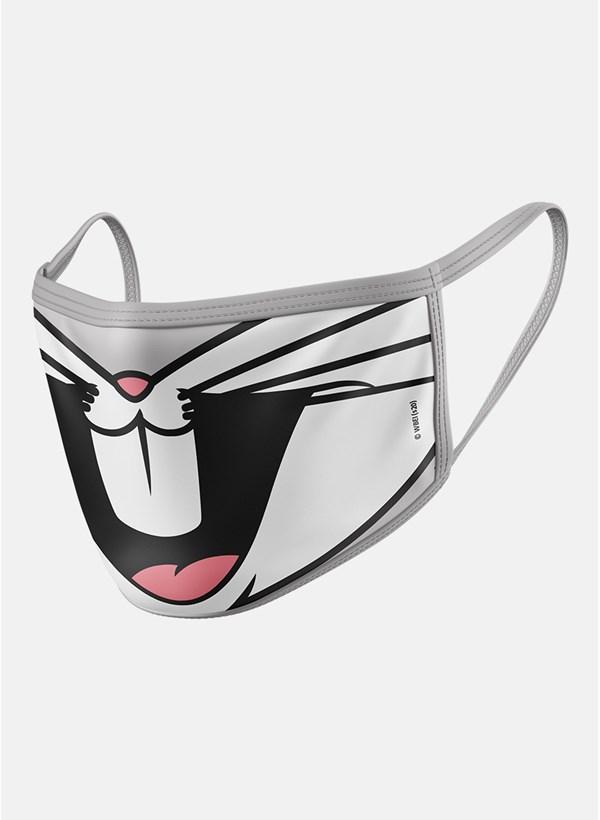 Máscara Looney Tunes Pernalonga Boquinha
