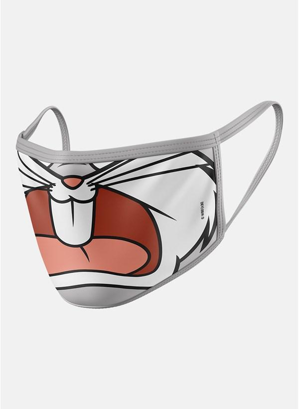 Máscara Looney Tunes Pernalonga Boquinha Grito